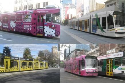 Trem di Kota Melbourne