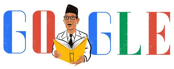 HUT Ki Hajar Dewantara 2 Mei (sumber: google doodle 2 Mei 2015)