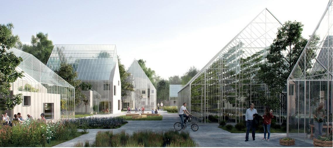 Sarat dengan vertical farming dan smart farming (gambar diambil dari sini)