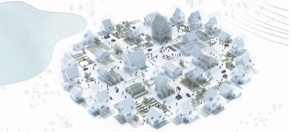 Disain 25 rumah yang terintegrasi