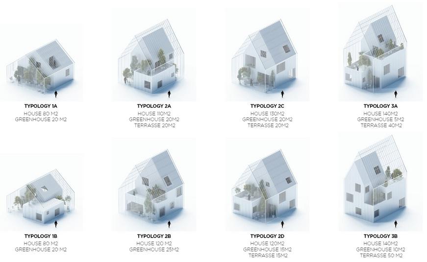 disain rumah yang dilengkapi dengan green house (gambar dari sini)